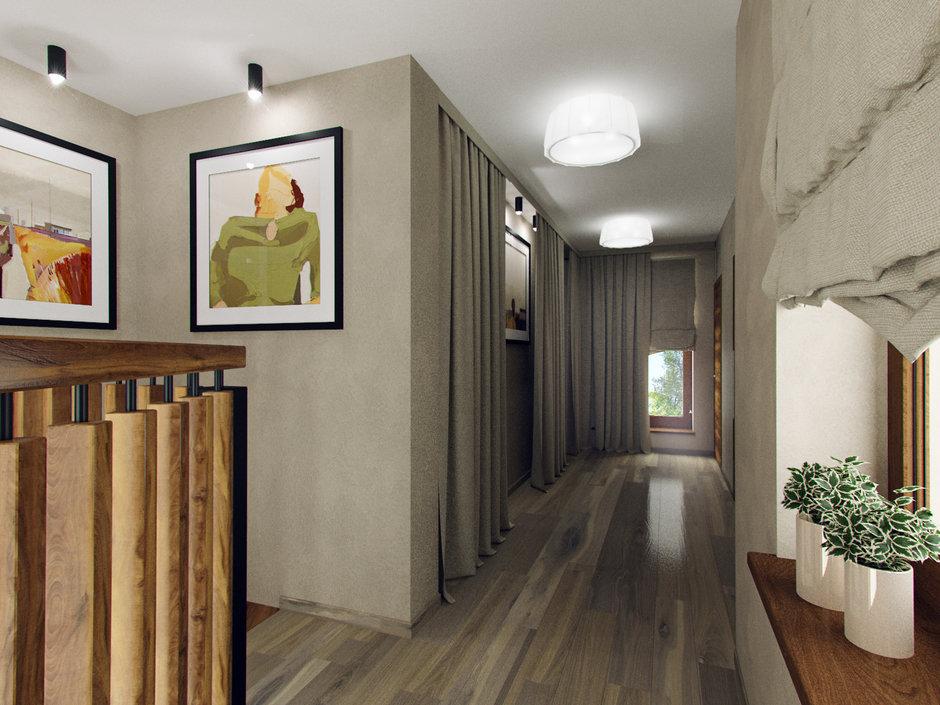 Фотография: Прихожая в стиле Современный, Эко, Дом, Проект недели, Дача, Волгоград, 4 и больше, Более 90 метров, Дизайн-студия Leгко – фото на InMyRoom.ru