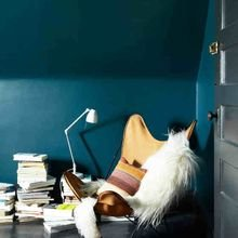 Фото из портфолио Гостиная в ярких тонах: идеи контрастных интерьеров – фотографии дизайна интерьеров на InMyRoom.ru