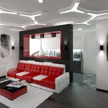 Фото из портфолио Трехкомнатная квартира в жилом комплексе Сергей Есенин в Санкт-Петербурге. – фотографии дизайна интерьеров на INMYROOM