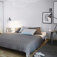 Фотография: Спальня в стиле Лофт, Интерьер комнат, Декор – фото на InMyRoom.ru