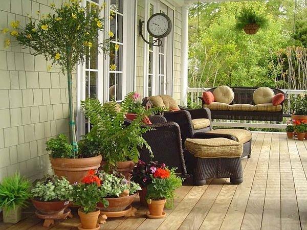 Фотография: Балкон, Терраса в стиле Прованс и Кантри,  – фото на InMyRoom.ru
