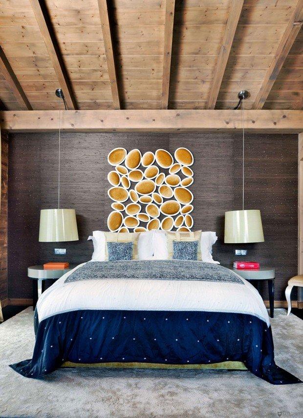 Фотография: Спальня в стиле Эклектика, Эко, Ремонт на практике – фото на InMyRoom.ru