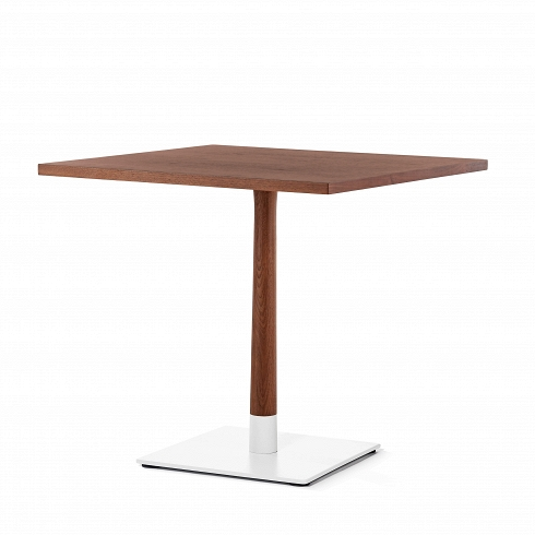 Купить Обеденный стол Copine из американского ореха на стальном основании, inmyroom