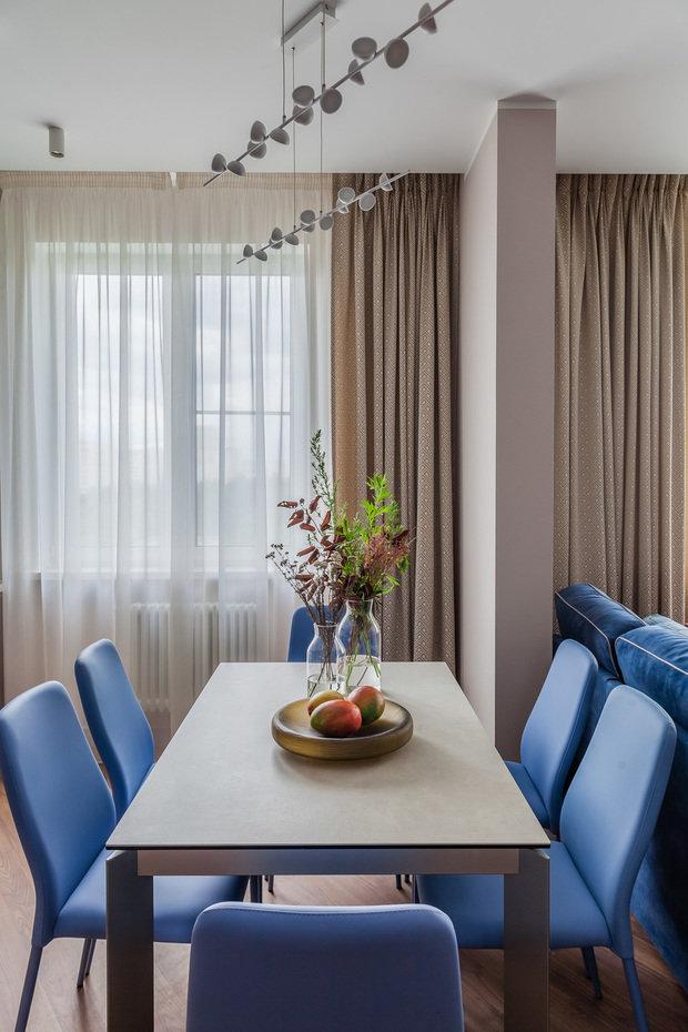 Фотография: Кухня и столовая в стиле Современный, Уютная квартира, Олеся Шляхтина, Анна Моджаро, Elements, Pallage Studio, ПРЕМИЯ INMYROOM – фото на INMYROOM