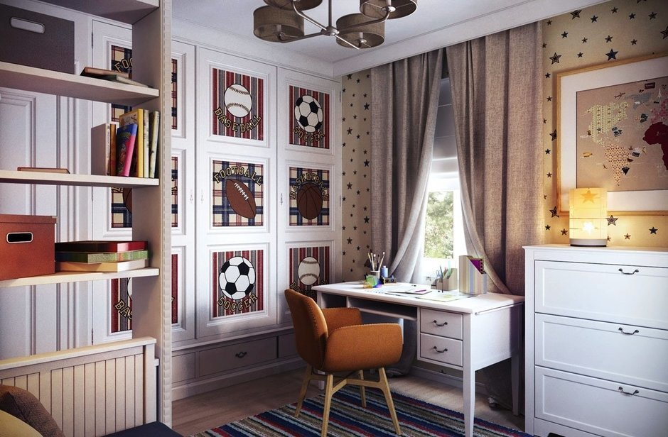 Фотография: Детская в стиле Современный, Спальня, Декор интерьера, Интерьер комнат – фото на InMyRoom.ru