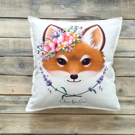"Подушка ""Cute Fox"""