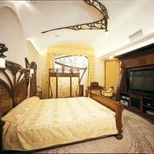 Фотография: Спальня в стиле Классический, Дом, Дизайн интерьера, Ар-нуво – фото на InMyRoom.ru