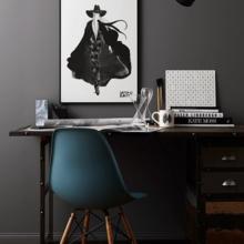 Фотография: Кабинет в стиле Скандинавский, Мебель и свет, История дизайна, Гид,  Charles & Ray Eames, Eames DSR – фото на InMyRoom.ru