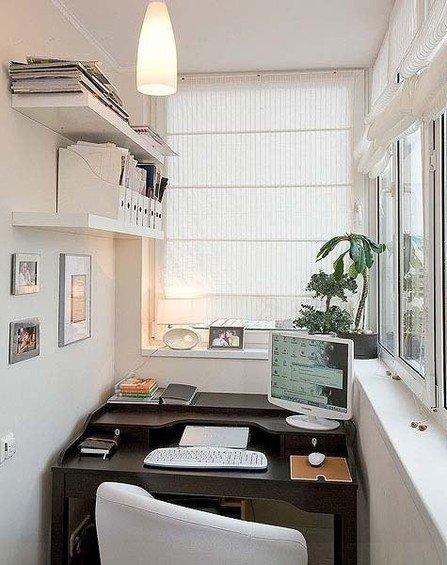 Фотография: Кабинет в стиле Скандинавский, Балкон, Декор интерьера, DIY, Интерьер комнат – фото на INMYROOM