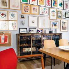 Фотография: Кухня и столовая в стиле Скандинавский, Эклектика, Квартира, Дома и квартиры – фото на InMyRoom.ru