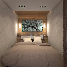 Фото из портфолио Двухкомнатная квартира – фотографии дизайна интерьеров на InMyRoom.ru