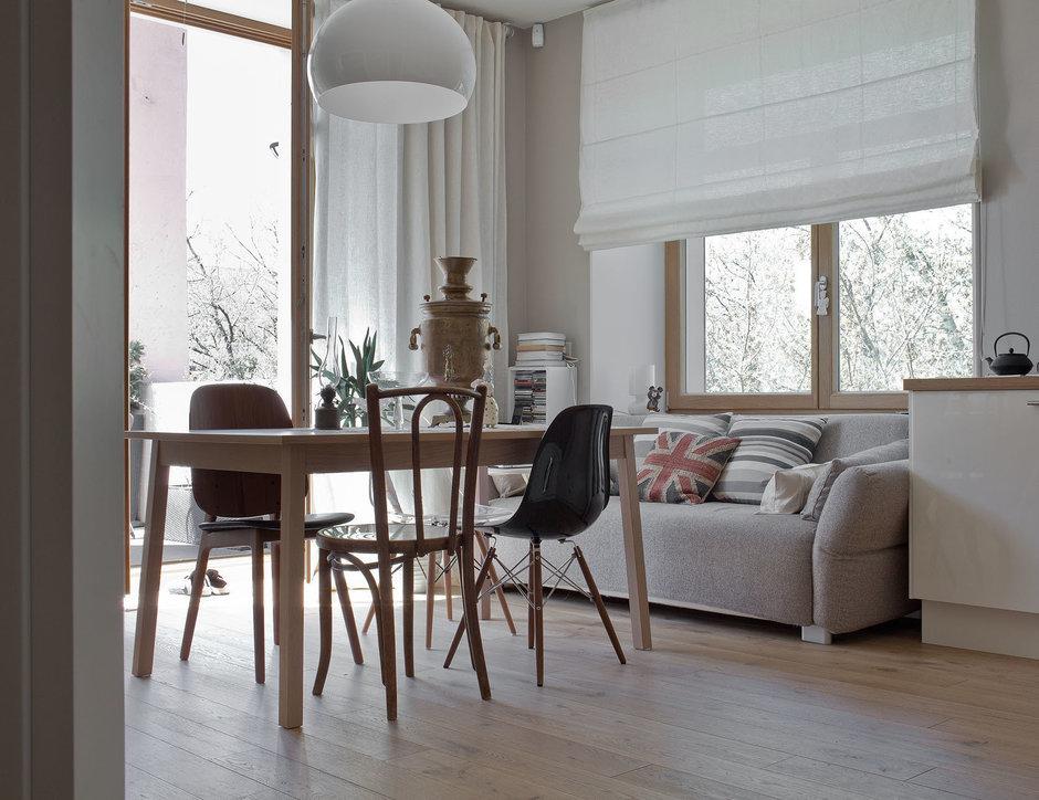 Фотография: Кухня и столовая в стиле Лофт, Квартира, BoConcept, Дома и квартиры, IKEA – фото на InMyRoom.ru