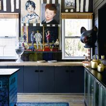 Фотография: Кухня и столовая в стиле Лофт, Скандинавский, Дома и квартиры, Интерьеры звезд – фото на InMyRoom.ru