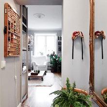 Фотография: Декор в стиле Скандинавский, Малогабаритная квартира, Квартира, Цвет в интерьере, Дома и квартиры, Белый, Гетеборг – фото на InMyRoom.ru