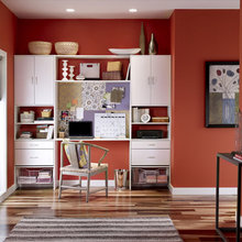 Фотография: Кабинет в стиле Современный, Интерьер комнат, Системы хранения – фото на InMyRoom.ru