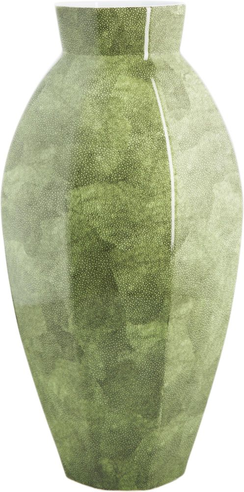 Ваза настольная керамическая Shagreen Narrow