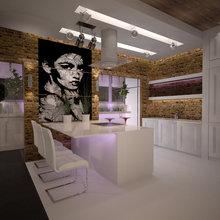 Фото из портфолио Квртира 110 кв.м. – фотографии дизайна интерьеров на INMYROOM