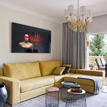 Фотография: Гостиная в стиле Современный, Квартира, Испания, Проект недели, Ксения Турик – фото на InMyRoom.ru