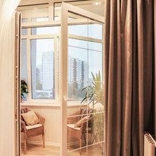 Фотография: Балкон, Терраса в стиле Современный, Квартира, Дома и квартиры, Галерея Арбен – фото на InMyRoom.ru