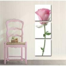 Декоративная картина на холсте: Одинокая роза