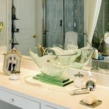 Фотография: Декор в стиле Современный, Ванная, Эклектика, Интерьер комнат, Проект недели – фото на InMyRoom.ru