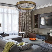 Фотография: Гостиная в стиле Современный, Интерьер комнат, Проект недели – фото на InMyRoom.ru