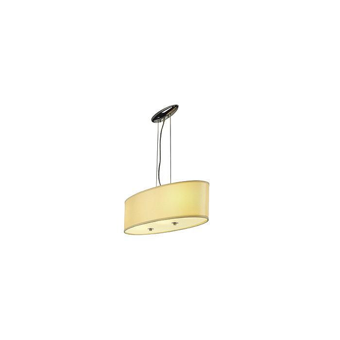 Светильник подвесной Soprana PD4 хром/бежевый 155283