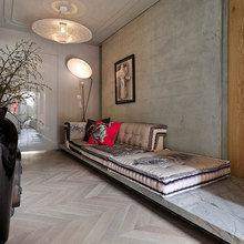 Фотография: Гостиная в стиле Кантри, Классический, Современный, Эклектика, Офисное пространство, Офис, Дома и квартиры, Проект недели – фото на InMyRoom.ru