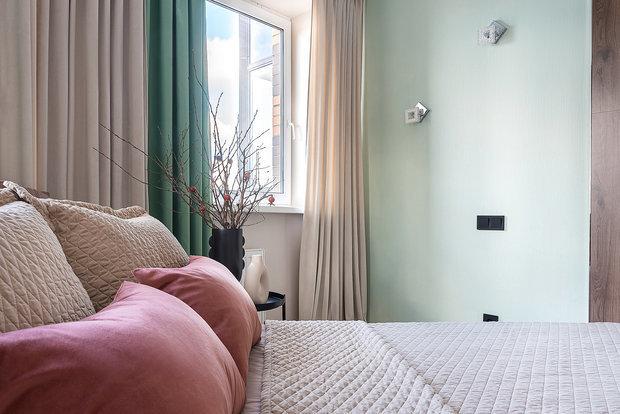 Фотография: Спальня в стиле Современный, Малогабаритная квартира, Квартира, Проект недели, Санкт-Петербург, до 40 метров, Елена Титова – фото на INMYROOM