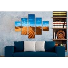 Интерьерная модульная картина на стену: Пески пустыни