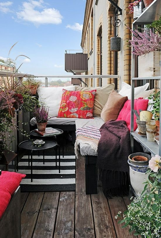 Фотография: Балкон, Терраса в стиле Прованс и Кантри, Современный, Интерьер комнат, Барная стойка – фото на InMyRoom.ru
