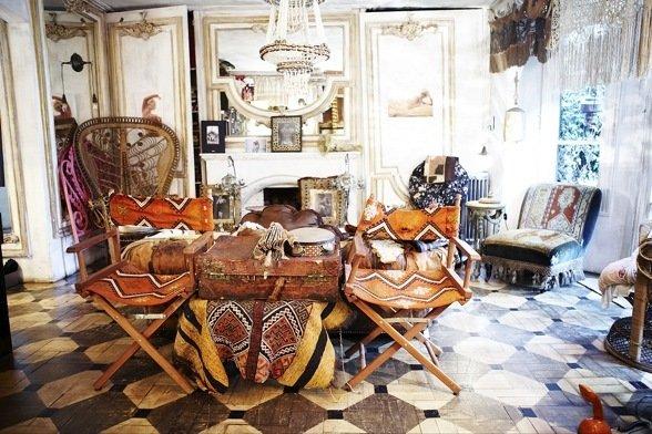 Фотография: Кухня и столовая в стиле Прованс и Кантри, Современный, Дизайн интерьера – фото на InMyRoom.ru