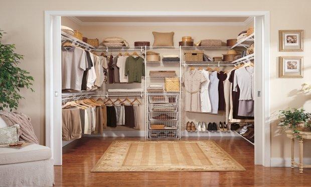 Фотография: Гардеробная в стиле Классический, Советы, гардеробная в квартире – фото на InMyRoom.ru