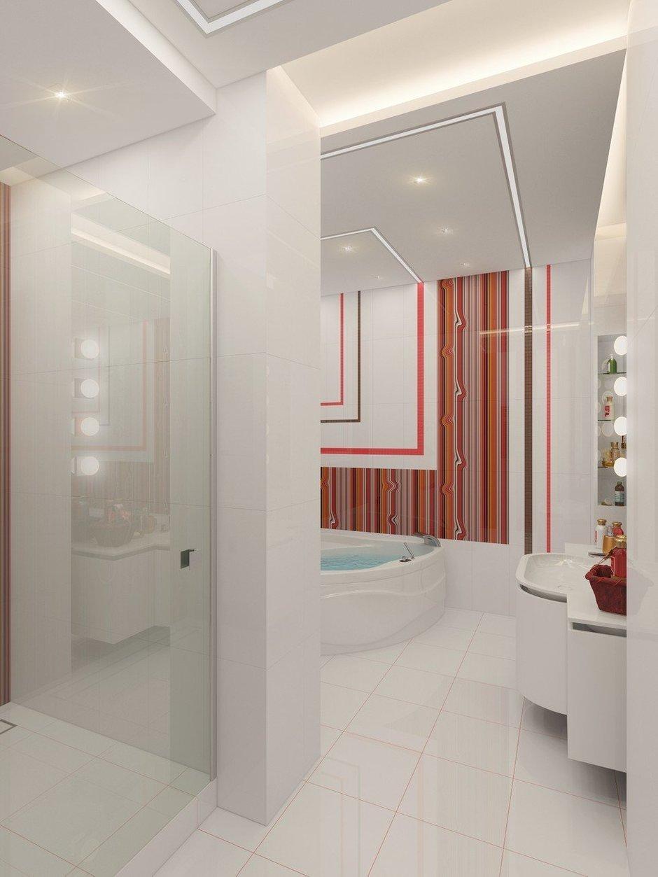Фотография: Ванная в стиле Современный, Декор интерьера, Квартира, Natuzzi, Дома и квартиры, Проект недели, Moroso – фото на InMyRoom.ru