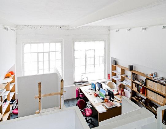 Фото из портфолио Офис на Мосштампе – фотографии дизайна интерьеров на INMYROOM