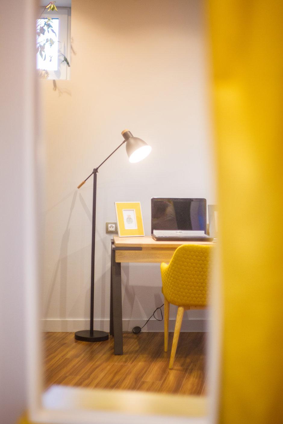 Фотография: Кабинет в стиле Современный, Квартира, Проект недели, Химки, Ануш Аракелян, Монолитный дом, ЖК «Правый Берег» – фото на InMyRoom.ru