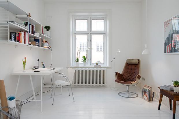 Фотография: Офис в стиле Скандинавский – фото на INMYROOM