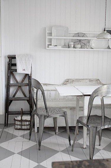 Фотография: Кухня и столовая в стиле Прованс и Кантри, Декор интерьера, Декор дома, Пол – фото на InMyRoom.ru