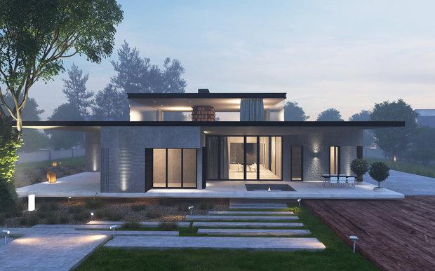 Фото из портфолио Проект дома на Рублево-Успенском шоссе – фотографии дизайна интерьеров на INMYROOM
