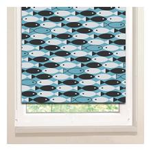 Рулонные шторы: Косяк рыбок