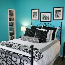 Фотография: Спальня в стиле Кантри, Современный, Интерьер комнат – фото на InMyRoom.ru