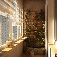 Фотография: Балкон, Терраса в стиле Современный, Малогабаритная квартира, Квартира, Дома и квартиры – фото на InMyRoom.ru