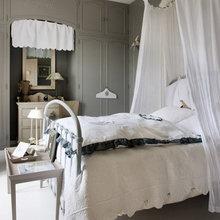 Фотография: Спальня в стиле Кантри, Дом, Цвет в интерьере, Дома и квартиры, Прованс, Бежевый – фото на InMyRoom.ru