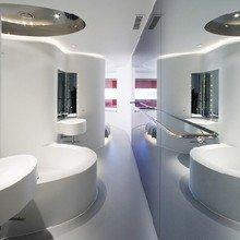 Фотография: Ванная в стиле Хай-тек, Дома и квартиры, Городские места – фото на InMyRoom.ru