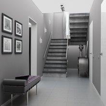 Фото из портфолио пос. Белоостров - загородный дом 119 кв. метров – фотографии дизайна интерьеров на InMyRoom.ru