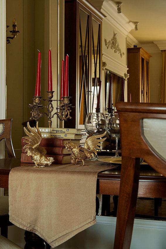 Фотография: Декор в стиле Классический, Квартира, Проект недели, Москва, Кирпичный дом, 3 комнаты, 60-90 метров, Анна Васильева, Couture Interiors – фото на INMYROOM