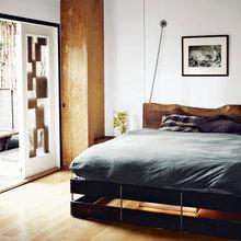 Фотография: Спальня в стиле Лофт, Скандинавский – фото на InMyRoom.ru