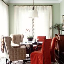 Фотография: Мебель и свет в стиле Кантри, Эклектика, Дом, Цвет в интерьере, Дома и квартиры – фото на InMyRoom.ru