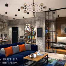 Фото из портфолио Лофт на юго-западе Санкт-Петербурга – фотографии дизайна интерьеров на INMYROOM