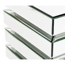 Столик Junto с зеркальными ящиками